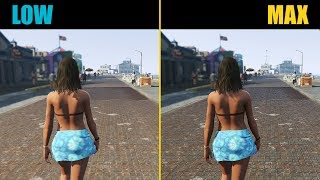 GTA 5 Low vs. Ultra (Graphics Comparison)