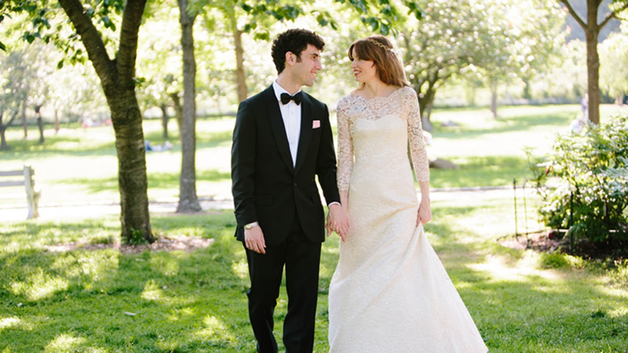 Matt and Evas Brooklyn Botanic Garden Wedding YouTube