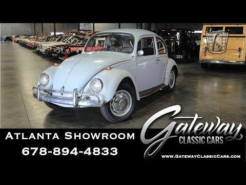 1967 Volkswagen Beetle - Gateway Classic Cars of Atlanta #1052