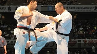 The 46th ALL JAPAN KARATE TOURNAMENT Men Quarterfinal Yuji Shimamot...