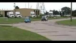 ZAP Xebra and GEM Electric Car Race