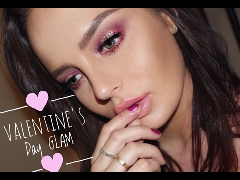 Valentines Day GLAM with the ABH Modern Renaissance Palette!