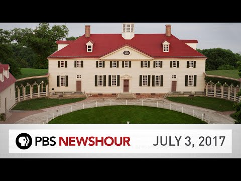 PBS NewsHour full episode July 3, 2017