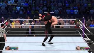 WWE 2K15 Brock Lesnar vs. The Undertaker Defeat the Streak