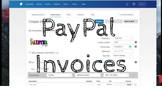 Creating and Sending Invoices with PayPal