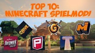 Top10 der eher unbekannten Minecraft Spielmodi