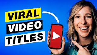 How to Title Your YouTube Videos to Get More Views (YouTube SEO Tutorial)