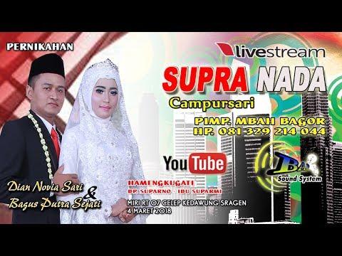 Live Streaming//CS.SUPRA NADA //BAP  SOUND// DIAN PICTURES//LIVE MIRI CELEP - EDAWUNG