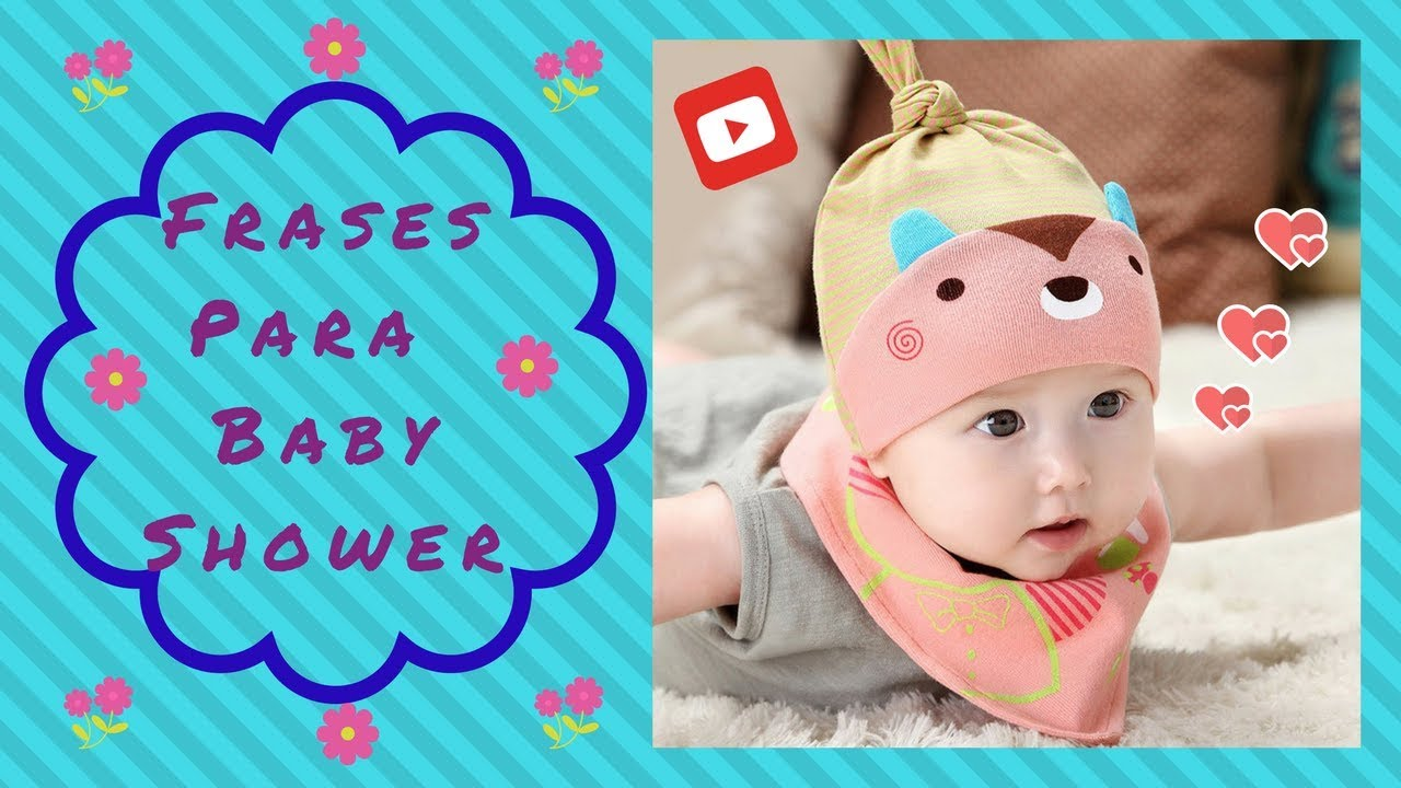 frases para baby shower youtube