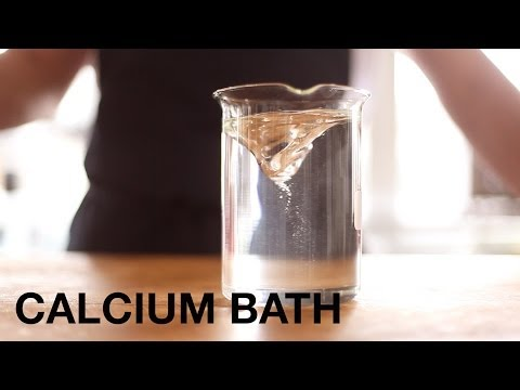 Preparing a Calcium Spherification Bath