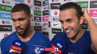 Pedro reacts to scoring Chelsea's 1,000th Premier League goal | Chelsea v Fulham