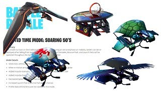 NEW *SOARING 50'S* LTM IN FORTNITE v5.21 PATCH NOTES