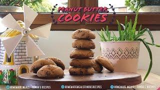 Peanut Butter Cookies | Homemade Meals