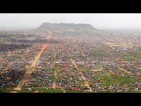 Arriving in Juba, South Sudan