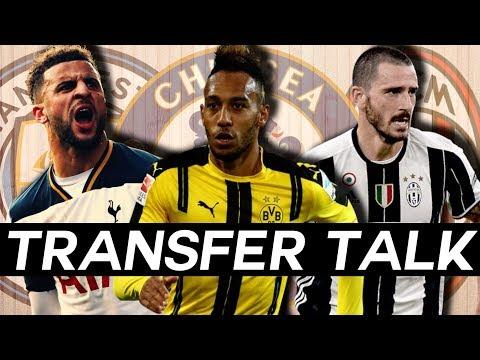 Man City Sign WALKER, AUBAMEYANG Prefers CHELSEA, BONUCCI to AC MILAN - Transfer Talk!