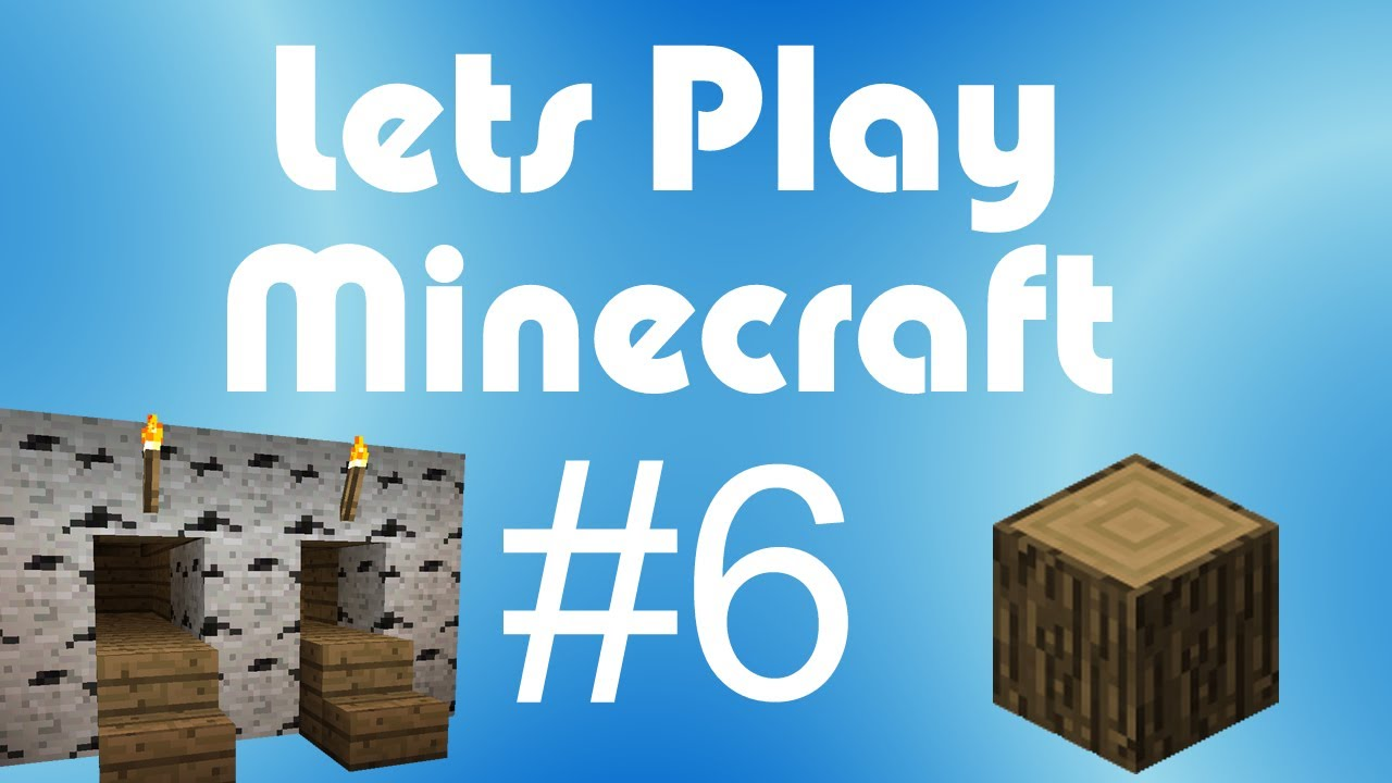 Minecraft Lets Play Pt 6 Doggy Door Tutorial Youtube