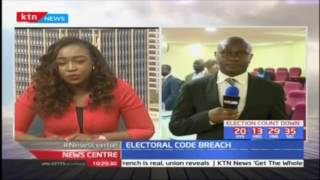 Electoral code breach: IEBC listens to 18 cases