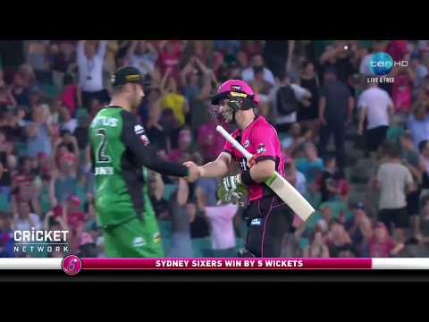 Sydney Sixers v Melbourne Stars, BBL|07