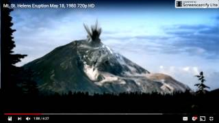 MT. ST. HELENS MAY BE READY TO BLOW SCIENTISTS SAY!  DECEMBER 13TH 2016