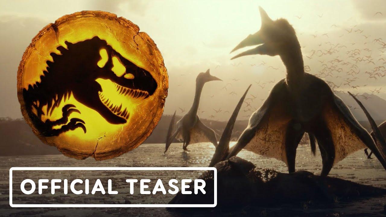 Jurassic World: Dominion recebe o primeiro teaser trailer