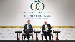 How will Singapore maintain & enhance its global influence? (Forbes Global CEO Conference)