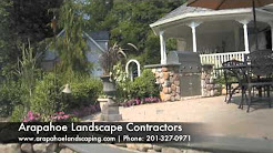 NJ Landscape Designer Arapahoe Landscape Contractors NJ Bergen County