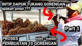 EKSKLUSIF !!! INTIP LANGSUNG DAPUR TUKANG GORENGAN BANG TASA YANG BAIK HATI - JAKARTA STREET FOOD
