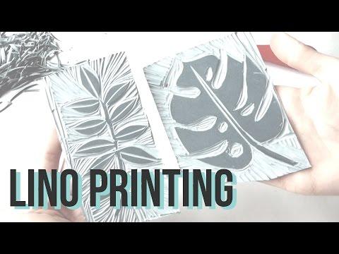 Lino Printing | Tutorial