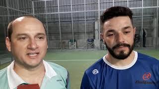 Zamorano- Españon. campeones quinta categoría pádel 2018.