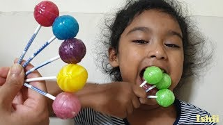 Pre school toddler Ishfi's learning color song