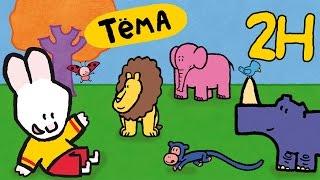 Рисунки Тёмы | 2 часа | Нарисуй зоопарк! Развивающий мультфильм