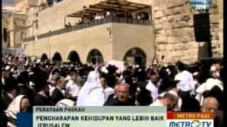 YOHANA MARGARETHA : PERAYAAN PASKAH DI JERUSALEM METRO PAGI METRO TV /JEJAK SANG MESIAS