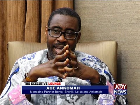 Ace Ankomah - The Executive Lounge on JoyNews (17-10-17)