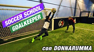 Goalkeeper Training con il nostro DONNARUMMA | Soccer School #1