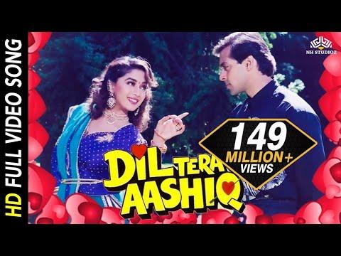 Dil Tera Aashiq Title Song | Kumar Sanu, Alka Yagnik |1993 Romantic Songs | Madhuri Dixit, Salman thumbnail