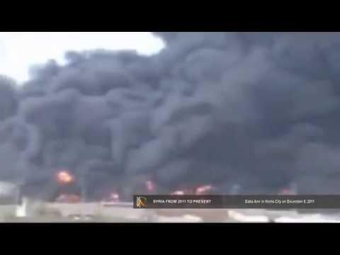20111208   Baba Amr   Homs City   Oil pipeline