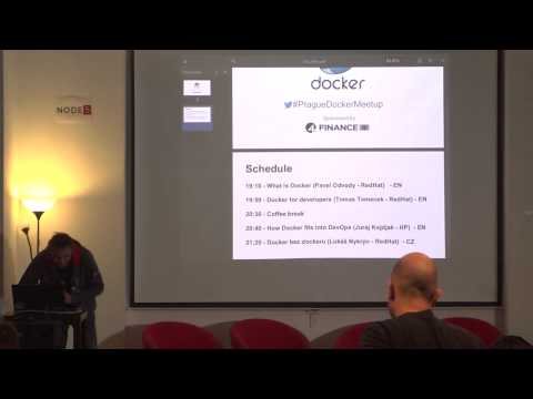 What is Docker (Pavel Odvody - RedHat)