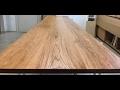 Lektion #1 Oliering af massivt træ af Kvorning Møbelsnedkeri
