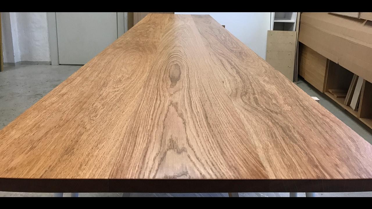 Seneste Lektion #1 Oliering af massivt træ af Kvorning Møbelsnedkeri - YouTube SR52