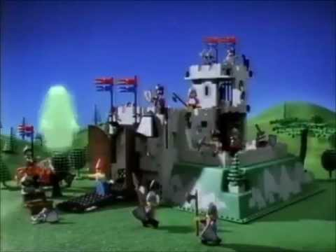 Lego Castle 1990 Crusaders Commercial Youtube