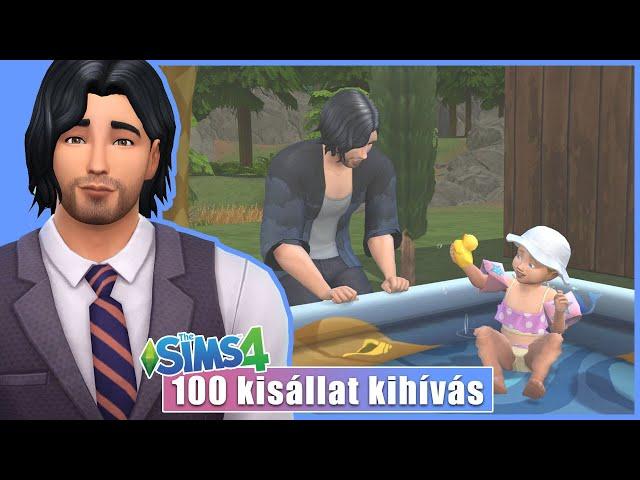Megszületett 👶 😍 | The Sims 4: 100 Kisállat Kihívás 64. rész