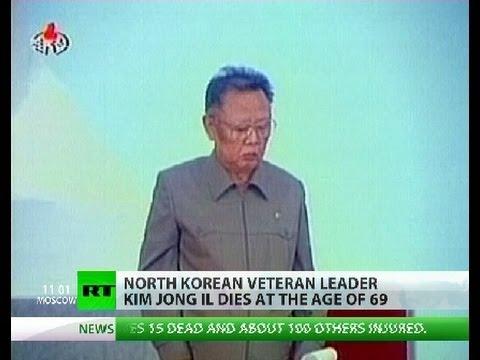 North Korean leader Kim Jong-il dies