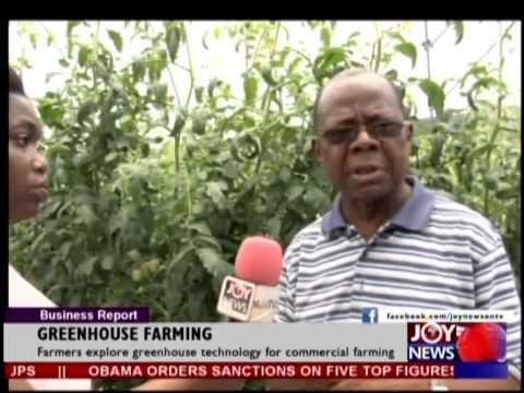 GREENHOUSE FARMING EMERGING IN GHANA