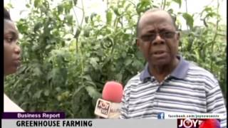 GREENHOUSE FARMING EMERGING IN GHANA