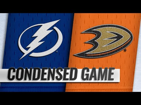 12/31/18 Condensed Game: Lightning @ Ducks