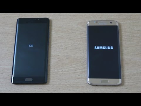 Xiaomi Mi Note 2 vs Samsung Galaxy S7 Edge - Speed Comparison!