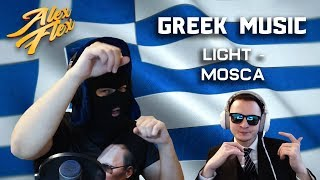 RUSSIAN BRO Alex Flex REACTS TO GREEK MUSIC | Light - Mosca