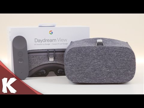 Daydream View - Unboxing - Hands On Look Using Google Cardboard