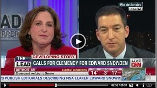 WaPo Reporter Spars With Glenn Greenwald about Edward Snowden & Clemency