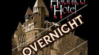 OVERNIGHT in a HAUNTED Hotel BEHIND THE SCENES w/ The G TEAM and OmarGosh